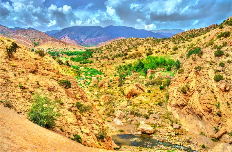 Landscapes of Batna Province in Algeria. North Africa royalty free stock photography