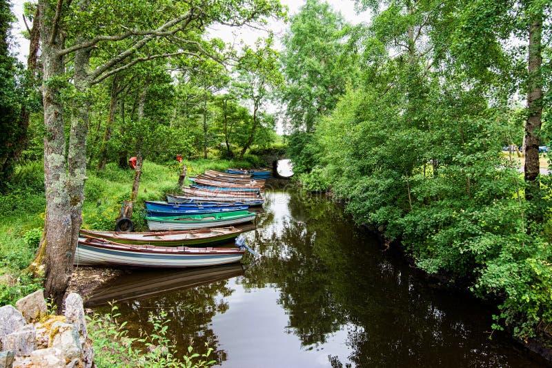 Landscapes of Ireland. Killarney national park royalty free stock photos