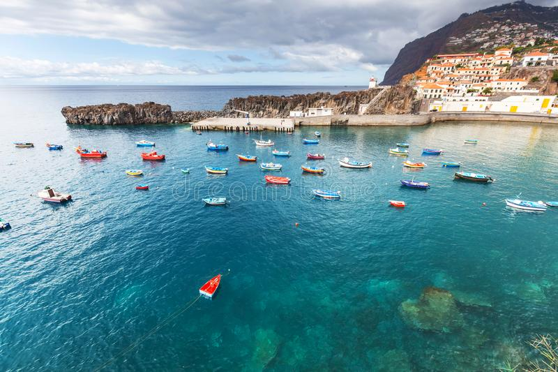 Madeira. Landscapes of the Madeira island royalty free stock photos