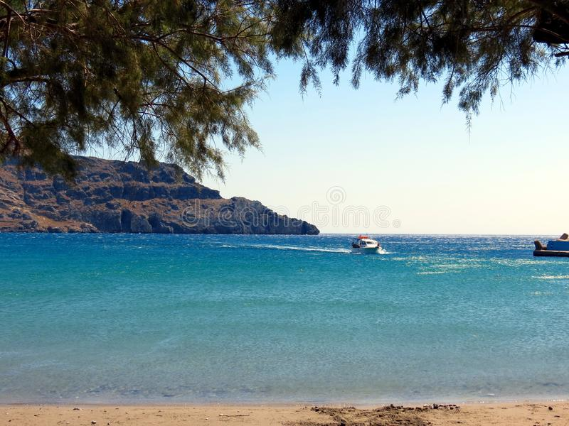 Landscapes of the Southern Crete stock photos