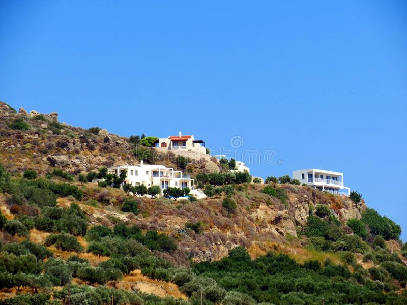 Landscapes of the Southern Crete royalty free stock images