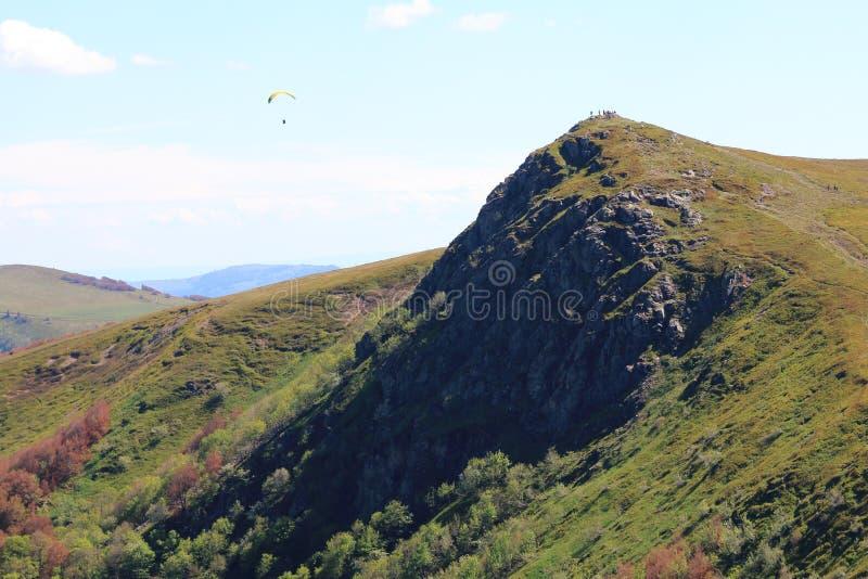 Landscapes of the Vosges, France stock images