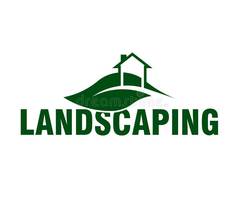 Great Download Landscaping Logo Company Stock Vector. Illustration Of Icon    109561264