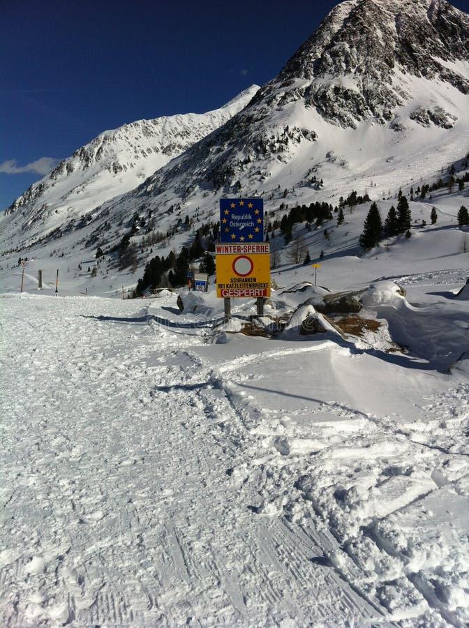 Landschaft Österreich stockfotos