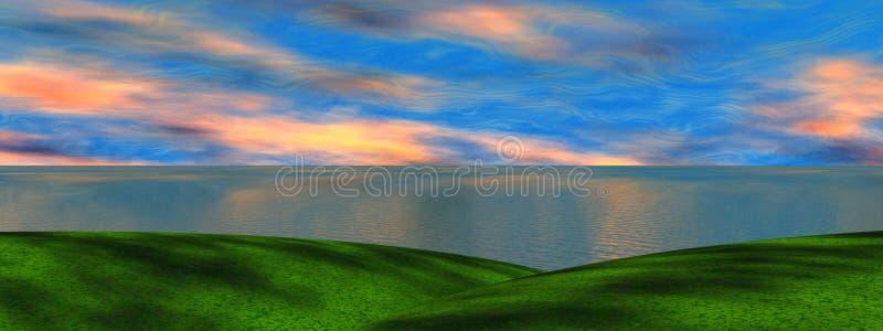 Landschaft stock abbildung