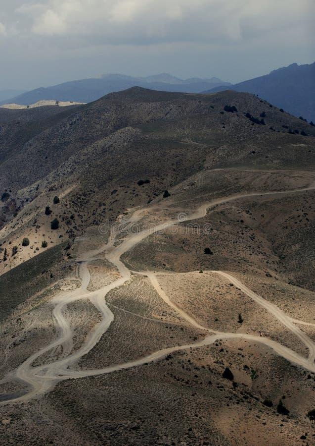 Landschaft in Afghanistan stockfoto