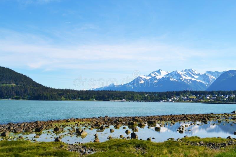 Landschaft in Alaska lizenzfreies stockfoto