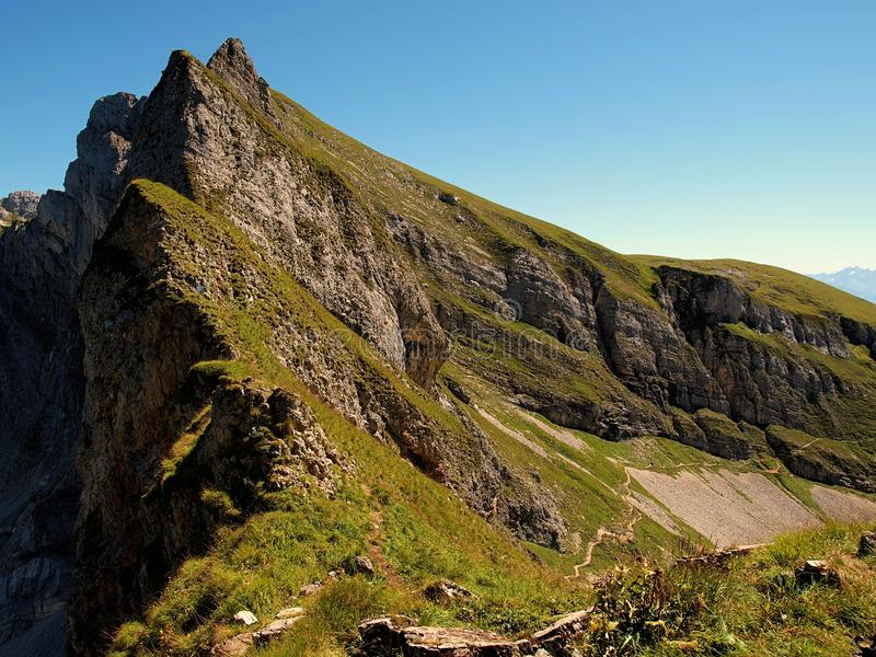 Landschaft Alpen immagini stock