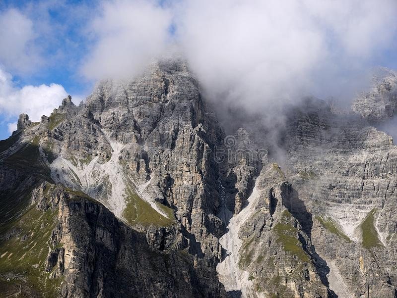 Landschaft Alpen fotografie stock