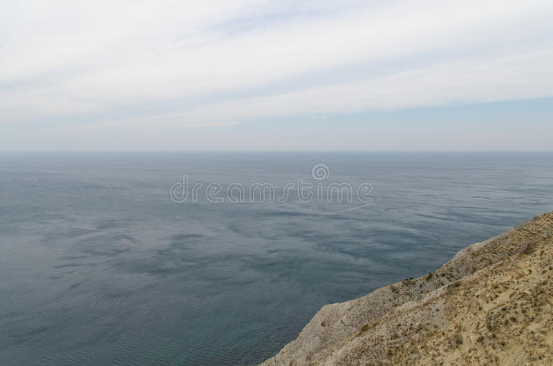 Landschaft in Anapa stockfotos