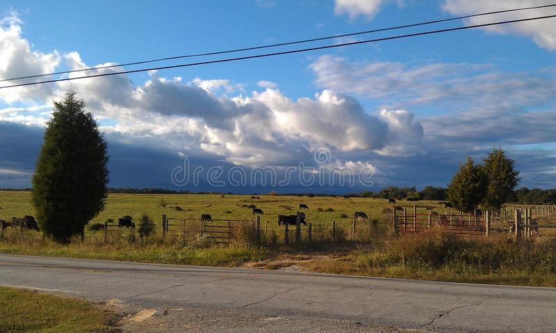 landschaft Atemnehmen stockfoto
