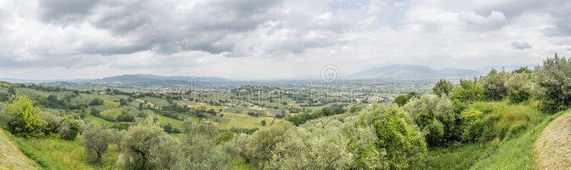 Landschaft aus Italien Marken lizenzfreies stockbild