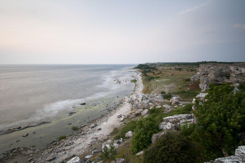 Landschaft bei Gotland lizenzfreie stockbilder