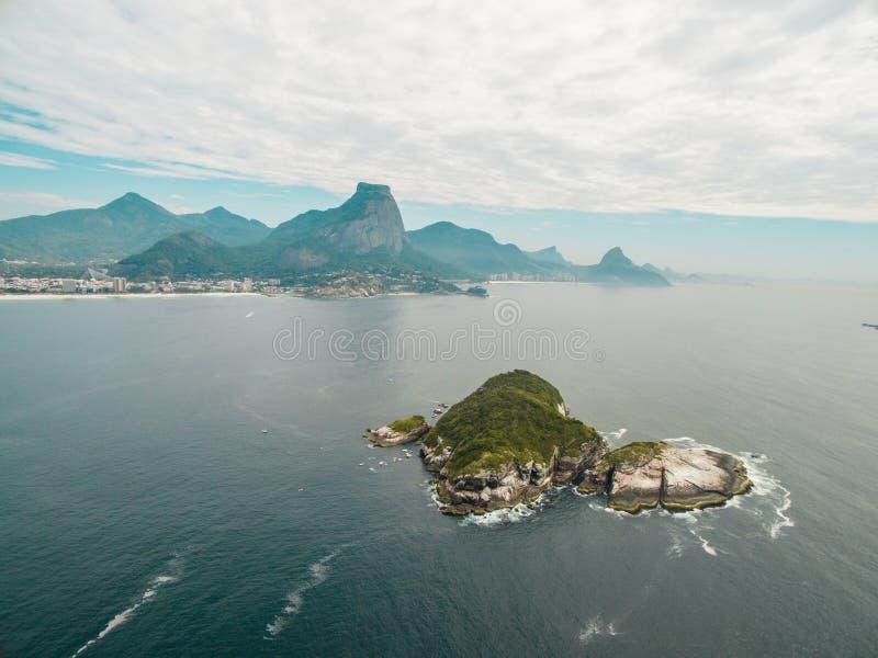 Landschaft bei Rio de Janeiro stockfotografie