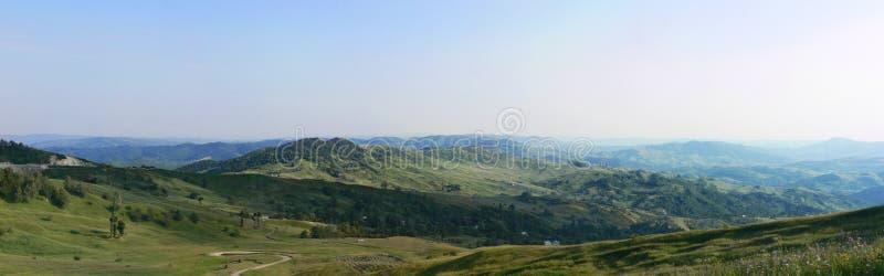 Landschaft in Bisoca stockfoto