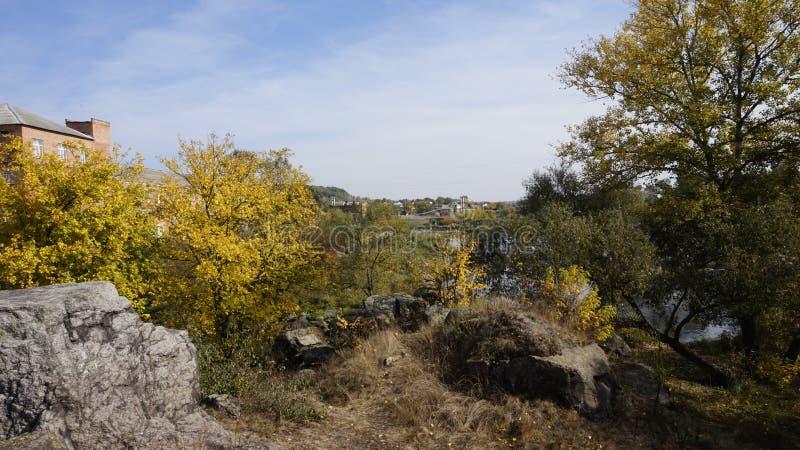 Landschaft in Boguslav lizenzfreie stockfotografie