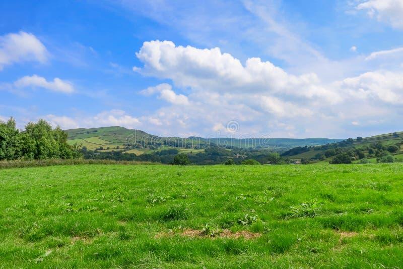 Landschaft in Bridgnorth lizenzfreie stockfotos