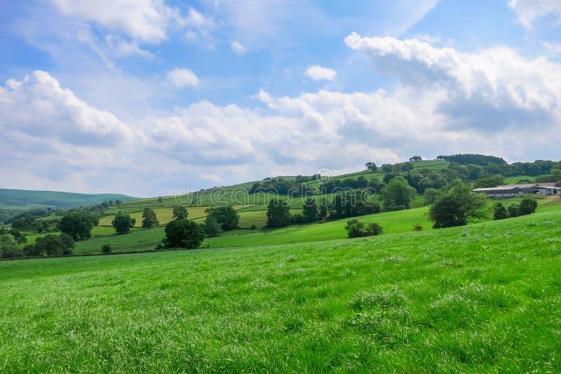 Landschaft in Bridgnorth lizenzfreie stockbilder