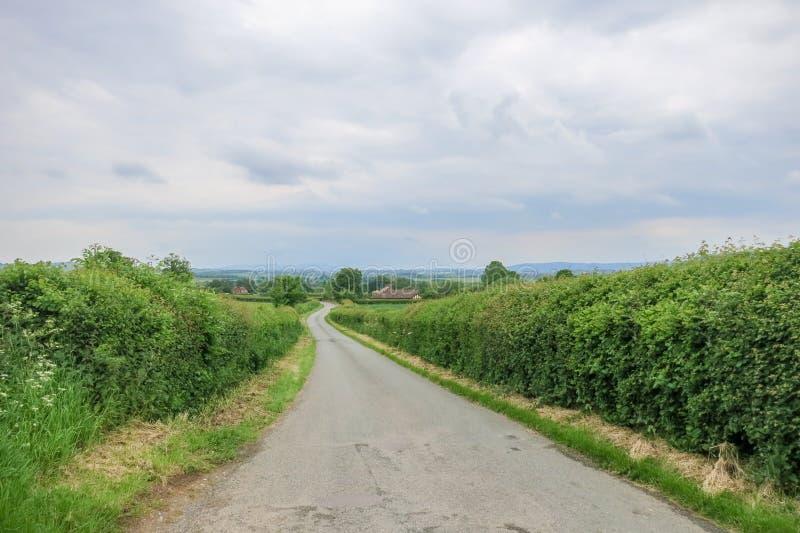 Landschaft in Bridgnorth lizenzfreies stockbild