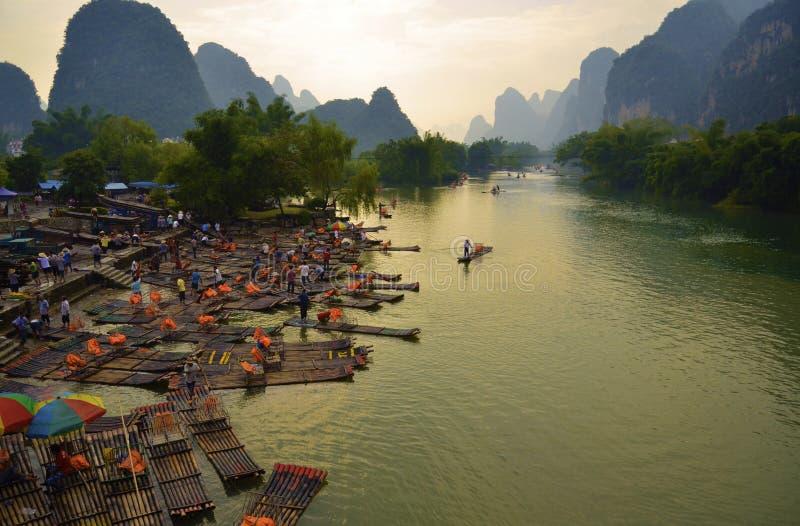 Landschaft China-Guilin lizenzfreie stockfotos