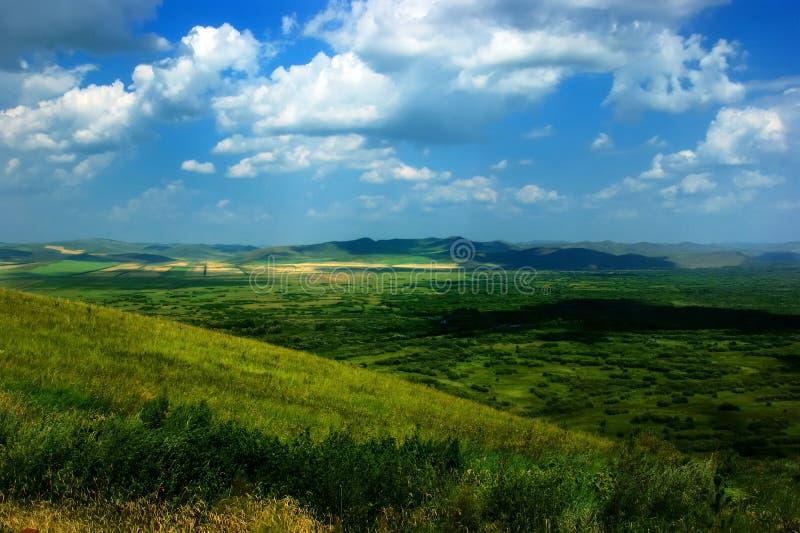 Landschaft Chinas Innere Mongolei lizenzfreies stockbild