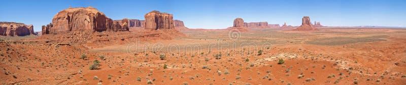 Landschaft der alten Felsen Denkmal-Tal, Arizona lizenzfreie stockbilder