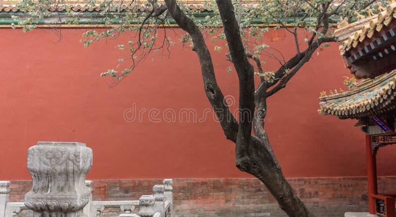 Landschaft der alten Stadt, mit Architekturstruktur und alter Kultur lizenzfreie stockbilder