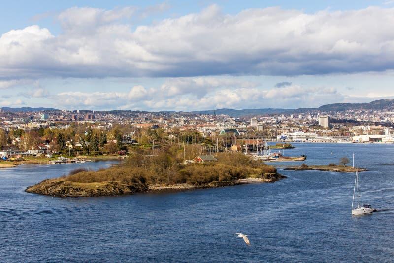 Landschaft in der Bucht stockfotografie