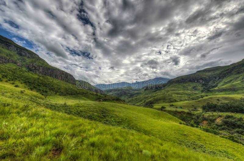 Landschaft der Giants-Schloss-Spiel-Reserve stockfotos