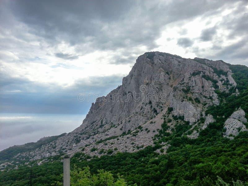 Landschaft der Küste der Krim lizenzfreies stockbild