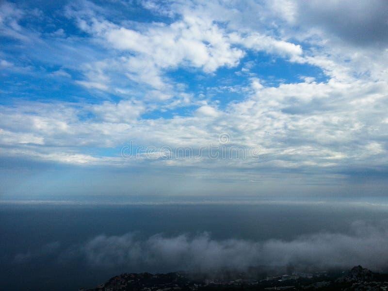 Landschaft der Küste der Krim lizenzfreie stockfotos