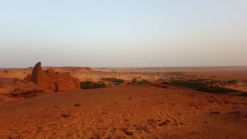 Landschaft der Wüste stockbild