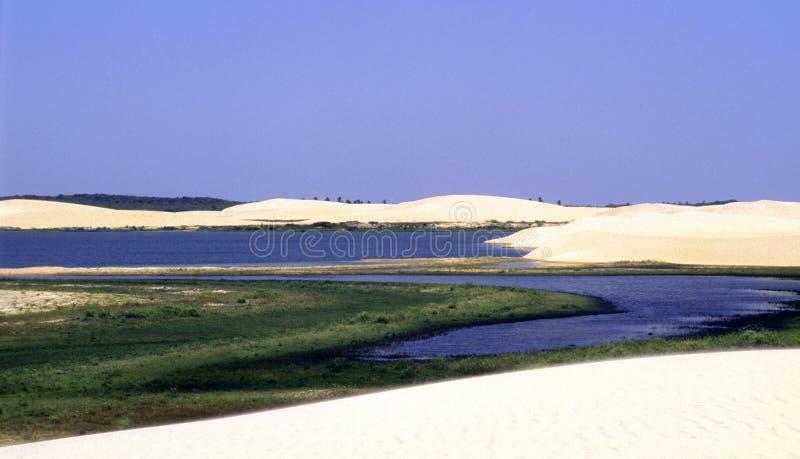 Landschaft des Strandes und des Meeres lizenzfreie stockbilder