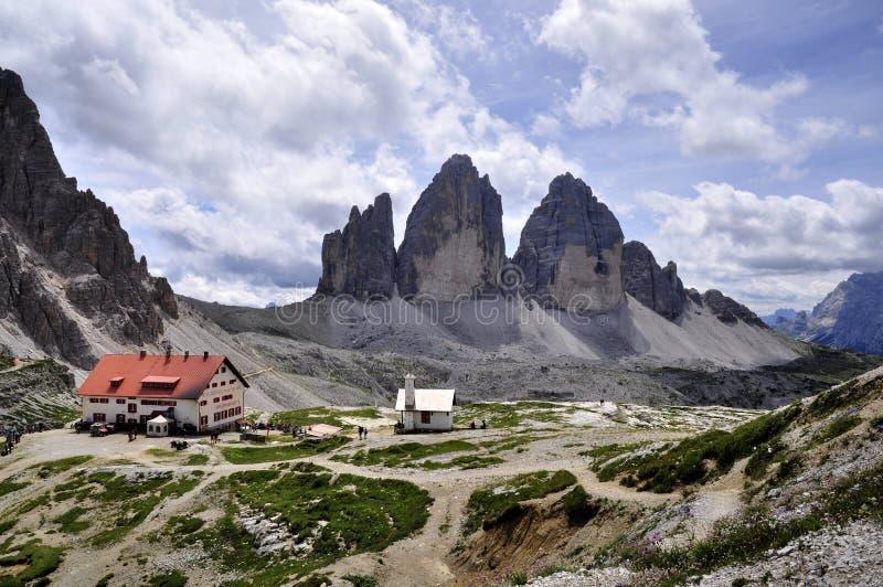 Landschaft Dolomity lizenzfreies stockfoto