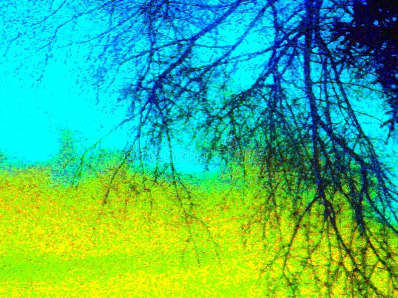 Landschaft-Hintergrund stockbilder
