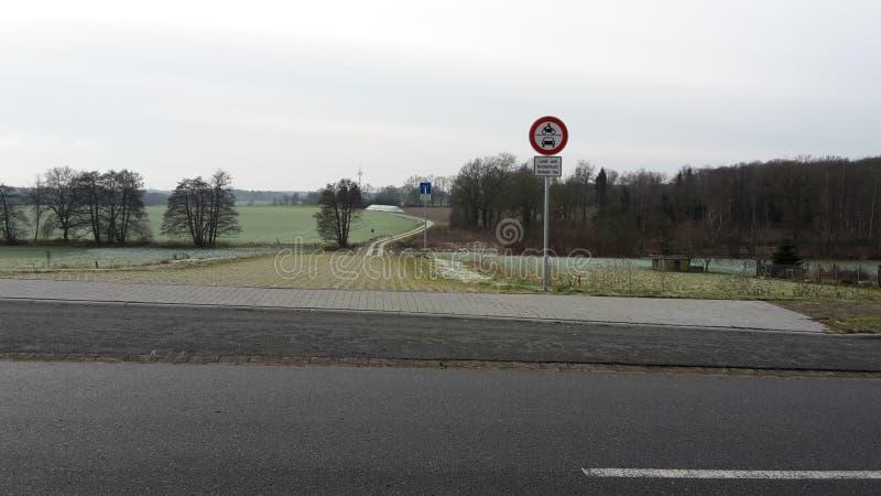 Landschaft im emmendorf lizenzfreie stockfotos