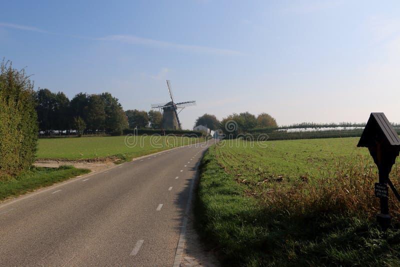Landschaft im niederländischen Zustand Limburg lizenzfreie stockfotos