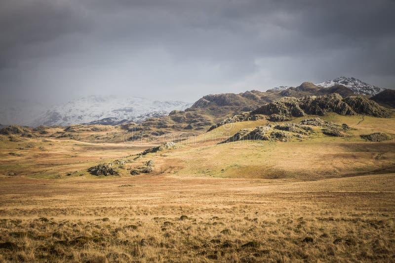 Landschaft im See-Bezirk, England lizenzfreie stockbilder