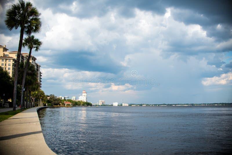 Landschaft Jacksonvilles Florida stockbilder