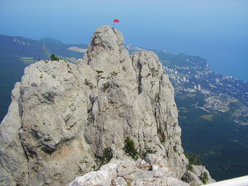 Landschaft Krim Ukraine lizenzfreies stockbild