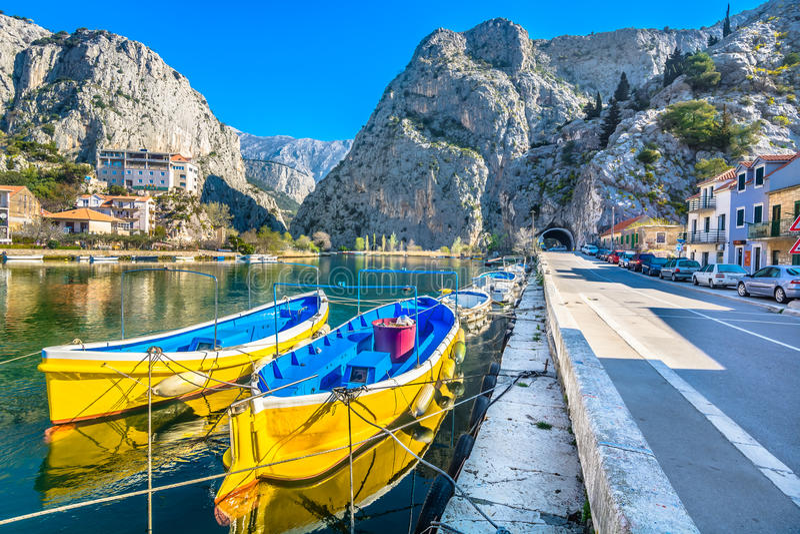Landschaft in Kroatien, Europa lizenzfreies stockbild