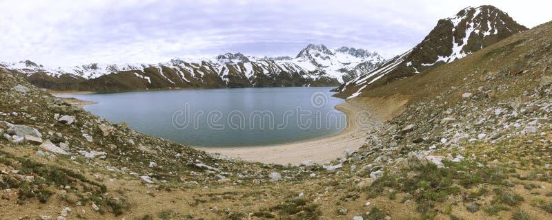 Landschaft in Maipu-Bezirk in Santiago-Paprika stockbild