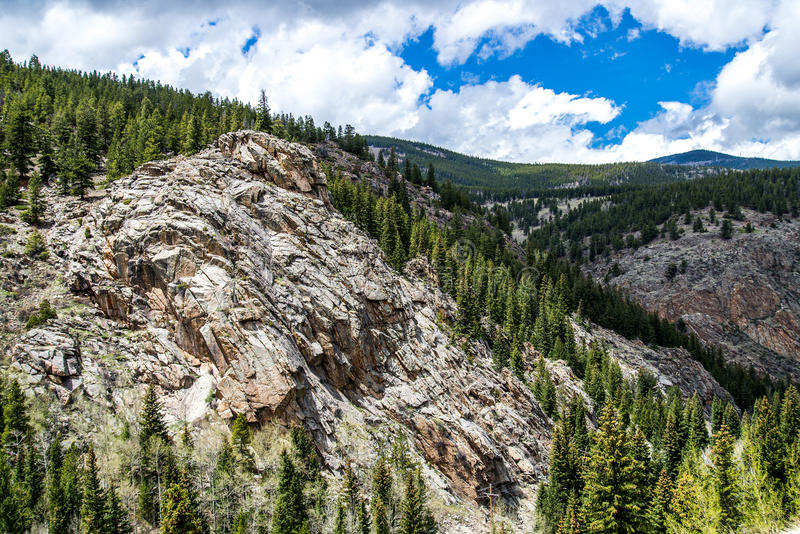 Landschaft Mt Evans Rocky Mountain Colorado lizenzfreie stockfotos