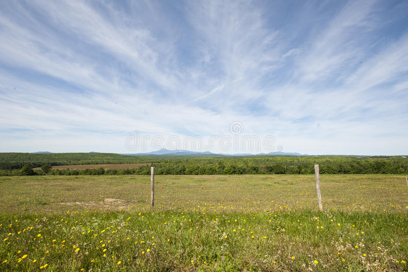 Landschaft Mt Katahdin lizenzfreies stockfoto