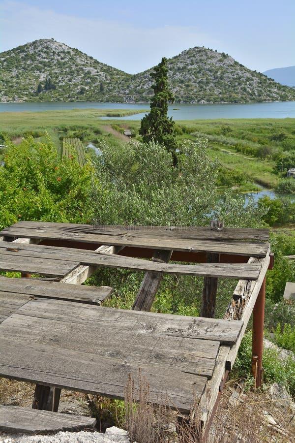Landschaft nahe Blace lizenzfreies stockbild