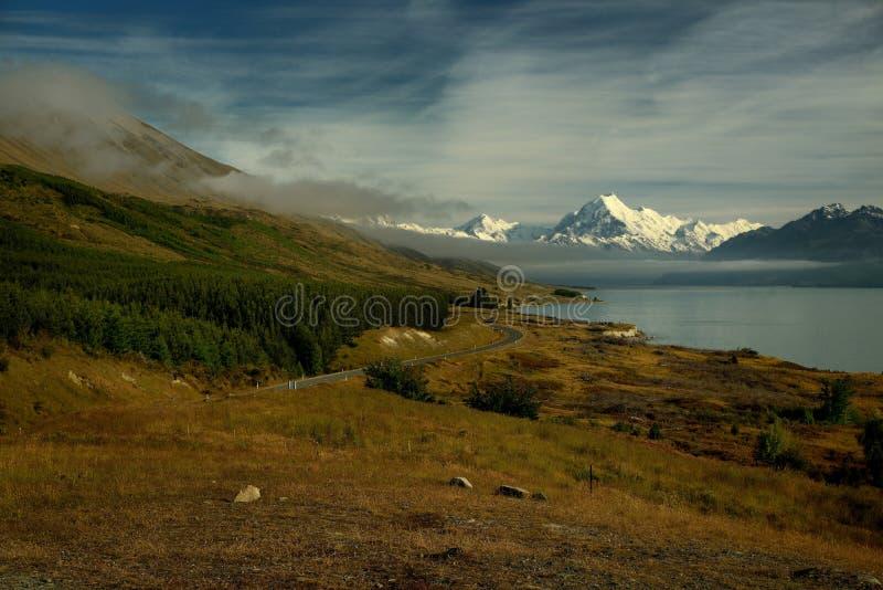 Landschaft Neuseeland - Mt Koch Aoraki stockfotos