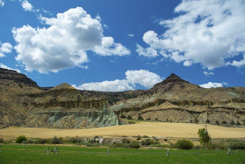 Landschaft Ost-Oregon lizenzfreie stockbilder