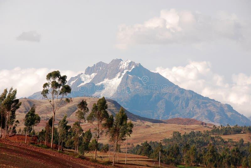 Landschaft Peru lizenzfreies stockfoto