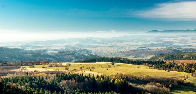 Landschaft in Polen lizenzfreies stockbild