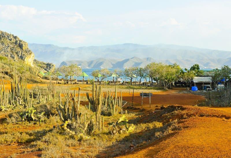 Landschaft Südamerikas, Venezuela von Faro-Insel stockfotografie